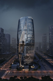 Zaha Hadids Beijing tower