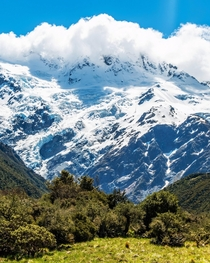 Zealandias Highest Peak Mount Cook New Zealand OC  x  jjcityscenes
