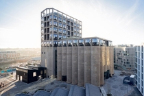 Zeitz Museum of Contemporary Art Africa or Zeitz MOCAA is South Africas biggest art museum constructed by hollowing out the inside of a historic grain silo building