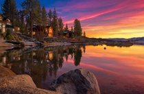 Zephyr Cove on Lake Tahoe Nevada  by Jim Feeler