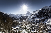 Zermatt Switzerland  by Frederic Huber