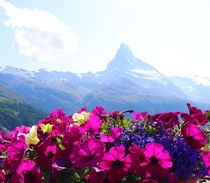 Zermatts Matterhorn earlier this year
