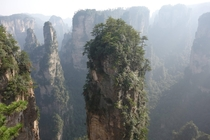 Zhangjiajie National Forest Park Northern Hunan Province China Chinese