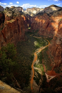 Zion from Angels Landing