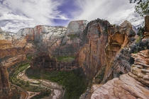 Zion National Park - Angels Landing Next time we go were going down the left face Australian style