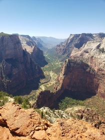 Zion National Park- View from the Observation Point