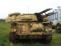 ZSU-- Shilka rusted and abandoned