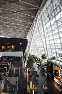Zurich International Airport main atrium Zurich Switzerland